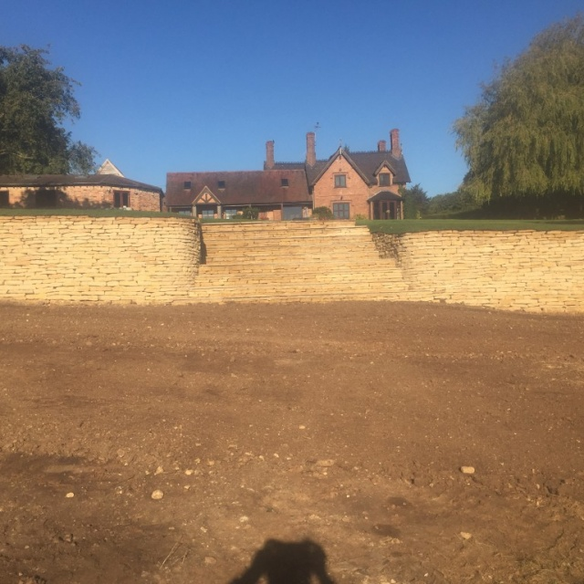 Dry Stone Wall – Hollow Meadow, Snitterfield, Stratford-Upon-Avon