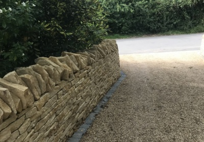Dry Stone wall in Exhall, Warwickshire